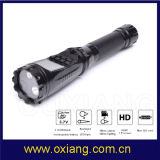 1.5inch Display Torch Camera Flashlight DVR Camera for Police Security Patrol