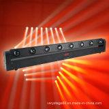 8*10W RGBW LED Bar Beam Moving Head /CREE LED Bar Beam Moving Head Effect Light