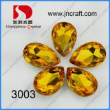 Dz-3003 Light Topaz Tear Drop for Jewellry