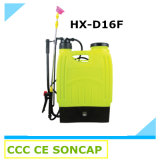 2 in 1 16liter Knapsack Electric Agricultural Power Sprayer Machine Price (HX-D16F)