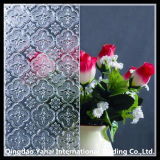 Flora Patterned Clear Float Glass