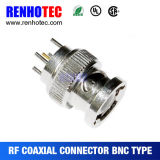Straight Panel Mount Male Connector BNC