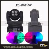 Double Side Mini 8PCS 8W LED Moving Head Wash Light