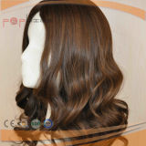European Hair Silk Top Jewish Kosher Wig (PPG-l-0060)