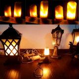 Hot Sale E26/E27 LED Flame Lamp with Warm White 5W