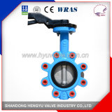 Industrial Lug Type Butterfly Valve with Single Shaft