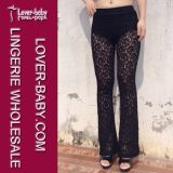 Lady′s Fashion Lace Legging (L97045)