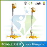 6m Electric Aluminum Alloy Aerial Work Platform Lift