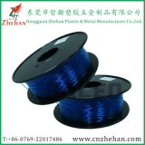 Black Spooltransparent Blue Color 1.75mm Flexible 3D Printing Filament Wholesale
