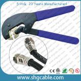 Rg59 RG6 Coaxial Cable F Connector Hex Crimp Tool (NT-106X)