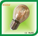 Vintage G45 2W E27 LED filament bulb