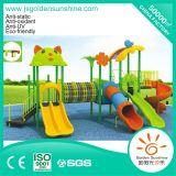 Children Plastic Outdoor Playground Amusement Equipment Slide with CE/ISO Certificate