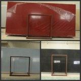 Red/Black/White Artificial Quartz Slab for Countertop/Tile