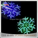 Party&Wedding Decoration LED Christmas Falshing Snowflake Rope Light