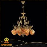 Luxury Decoration Pendant Lamp Brass Chandelier Lighting (MD0808-8+3)