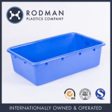 Customized Logo Small SGS Rodman Nestable Blue No. 7 Plastic Tray in Food Grade