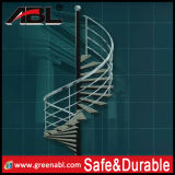 304 or 316 Stainless Steel Spiral Staircase Railing