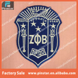 Hot Sale Custom Design Quality Shield Shape Iron on Embroidered Patches for Clothes