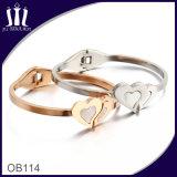 Sister Love Heart Bracelet Wtih Shell for Girl