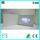 LCD Screen Digital Video Greeting Card/ Advertising Brochure