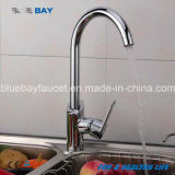 Hot Kitchen Hot&Cold Mixer Faucet Tap Sink Brass Chrome Single Handle Hole Home