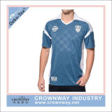Polyester Dye Sublimation Simple Design T Shirt for Men