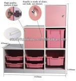 E1 Standard MDF Wooden Cabinet Room Furniture Plastic Shelf