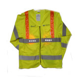 High Quality Long Sleeved Reflective Coat with 3m Reflective Tape