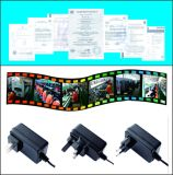 12V 2A Power Adapter Mass Power AC Adapter with Ce, GS, TUV Certificate
