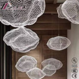 New Customized Fishing Net Circle Cloud of Personality Pendant Lamp