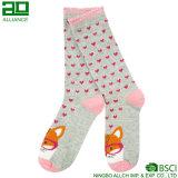 China Factory Wholesale Cotton Picot Socks