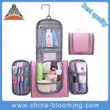 Fashion Pink Girls Wash Women Custom Travel Hanging Toiletry Bag