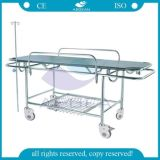 AG-HS015 ISO&Ce Approved Hospital Used Metal Frame Patient Stretcher