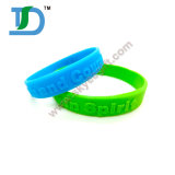 2016 New Fashion Promotion and Eco-Friendly Debossed Silicone Wristband