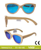 Handmade Fashionable Wooden Sunglasses with Ce and FDA (273-A)