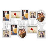 Plastic Multi Openning Home Decoration Family Wall Photo Frame