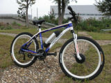 Full Suspension 36V 250W Bottle Battery Mountain E Bike with 8 Fun Motor with Ce Approval