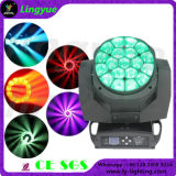Stage 19X15W Zoom Wash Bee Eye LED Moving Head Light K10 B-Eye