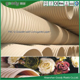 Goody White Ivory Drain Pipe Double Wall Corrugated PVC Pipe