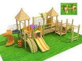 Leisure Outdoor Wooden Equipment Wood Childen Outdoor Equipment Playground