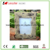 Polyresin Decorative Wood-Look Photo Frames for Promotional Gifts and Home Decoration
