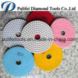 Square Radial spiral Shape Polishing Pad for Stone Polishing Machine
