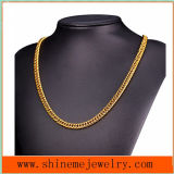 European and American Hot-Selling Double Woven Round Necklace Men′s Thick Chain Necklace (NL2619)