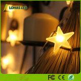 Warm White RGB Flexible Star LED String Light for Chiristmas Decoration