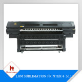 1.8m High Speed (100m2/h) Sublimation Printer 4 5113 Printer Heads