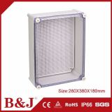 Grey Colour Waterproof ABS Plastic Electrical Box