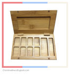 Cosmetic Wooden Packaging Box for OEM Order