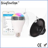 High Quality Colorful WiFi Bluetooth Music Wireless LED Bulb (XH-PS-657)