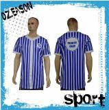 Men′s Striped Sublimation Color Printing Baseball Jerseys (B025)