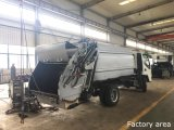 3t Compression Rear Loading Garbage Compactor Truck